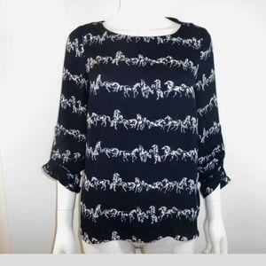 daniel rainn blouse size s, equestrian